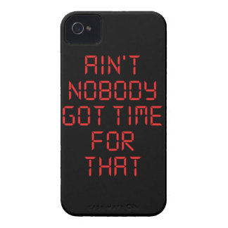 Ain't nobody got time for that iPhone 4 cases