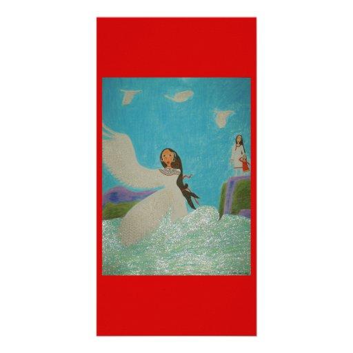 Aioga (Doll Version) Custom Photo Card