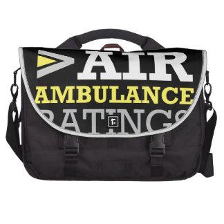 Air Ambulance and Medical Flight Company Ratings Computer Bag