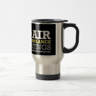 Air Ambulance and Medical Flight Company Ratings Travel Mug