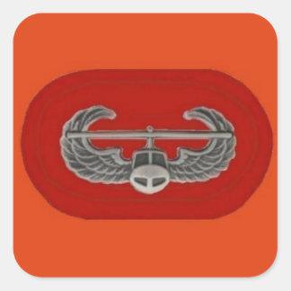 Air Assault Badge on 101st  Artillery Oval Sticker