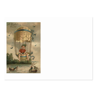 Air Balloon Easter Colored Painted Egg Duck Large Business Card