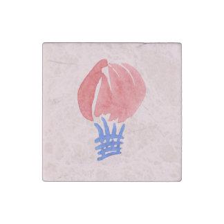 Air Balloon Marble Stone Magnet
