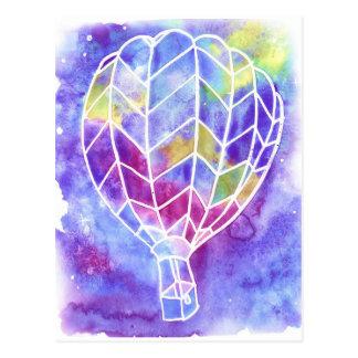Air Balloon Postcard