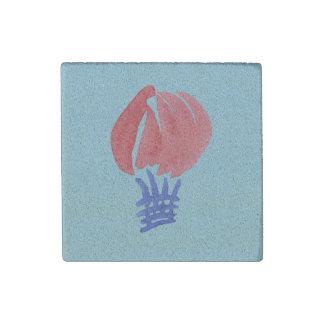 Air Balloon Sandstone Magnet