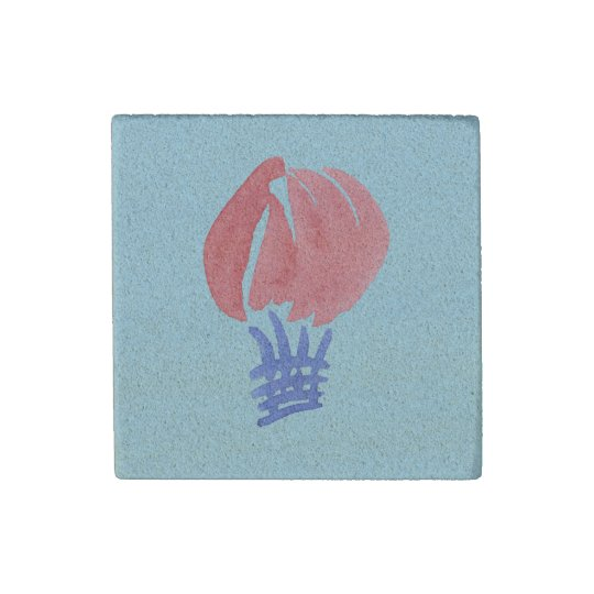 Air Balloon Sandstone Magnet Stone Magnets
