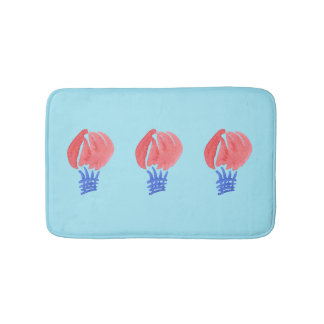 Air Balloon Small Bath Mat