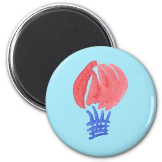 Air Balloon Standard Round Magnet
