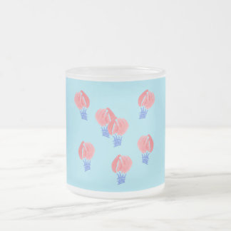 Air Balloons 10 oz Frosted Mug