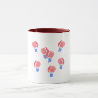 Air Balloons 11 oz Combo Mug