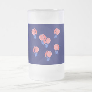 Air Balloons 16 oz Frosted Glass Mug