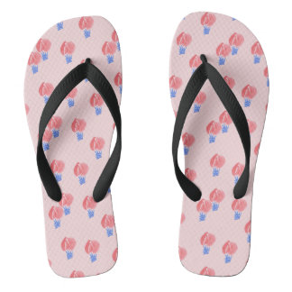 Air Balloons Adult Wide Straps Flip Flops