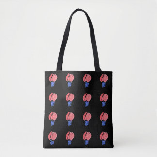 Air Balloons All-Over-Print Medium Tote Bag