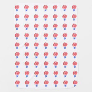 Air Balloons Baby Blanket