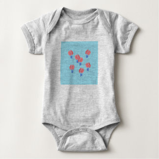 Air Balloons Baby Jersey Bodysuit