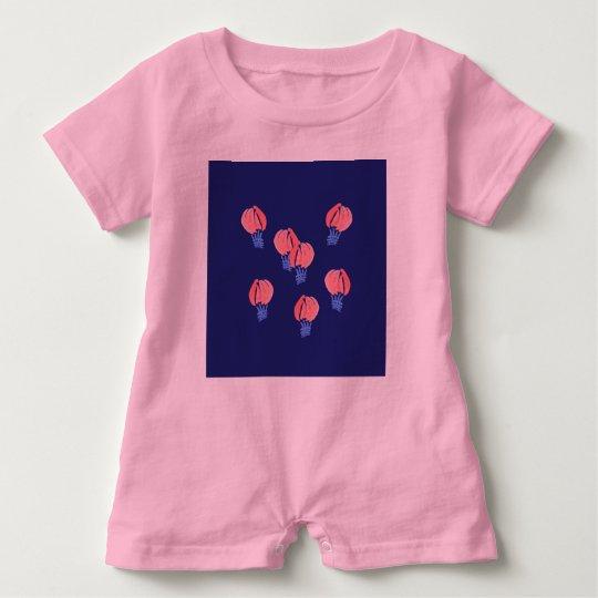 Air Balloons Baby Romper