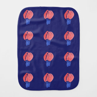 Air Balloons Burp Cloth