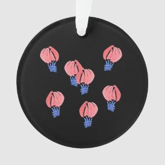 Air Balloons Circle Ornament