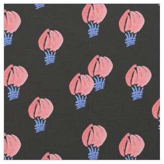 Air Balloons Combed Cotton Fabric