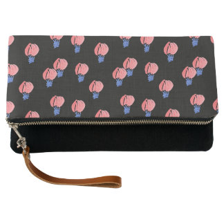 Air Balloons Fold-Over Clutch