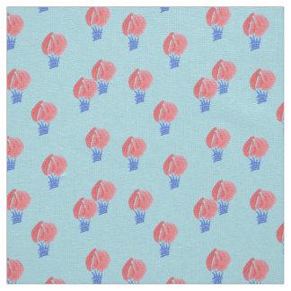 Air Balloons Ivory Linen Fabric