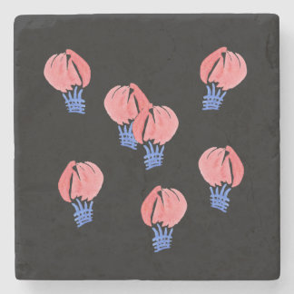 Air Balloons Marble Stone Coaster