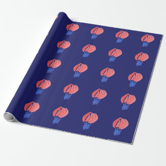 Air Balloons Matte Wrapping Paper 30'' x 6'