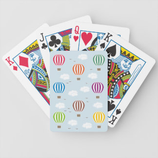 Air Balloons Pattern Bicycle Playing Cards
