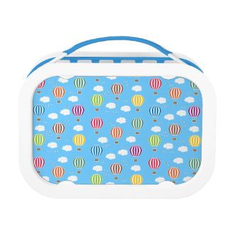 Air Balloons Pattern Lunch Box