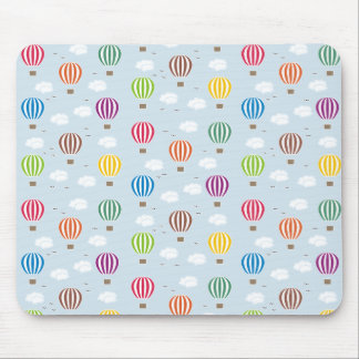 Air Balloons Pattern Mouse Pad