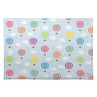 Air Balloons Pattern Placemat