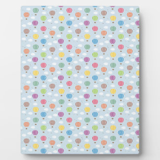 Air Balloons Pattern Plaque