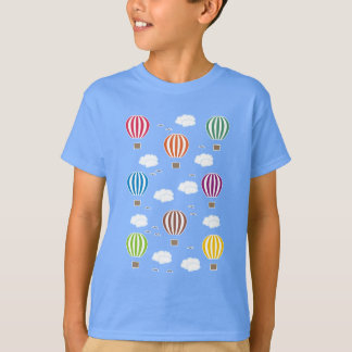 Air Balloons Pattern T-Shirt