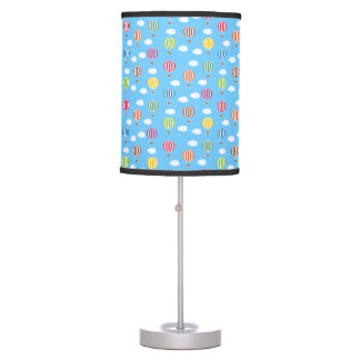 Air Balloons Pattern Table Lamp