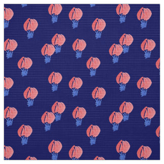 Air Balloons Polyester Weave Fabric