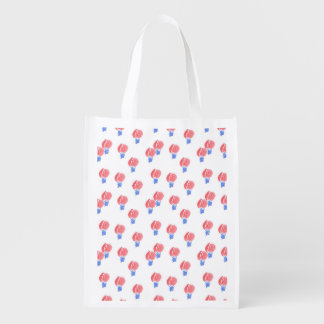 Air Balloons Reusable Bag