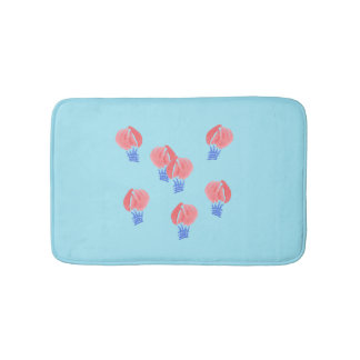 Air Balloons Small Bath Mat