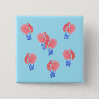 Air Balloons Square Button