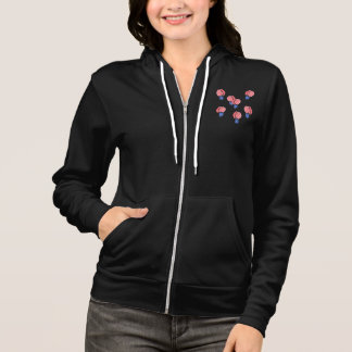 Air Balloons Women's Full-Zip Hoodie