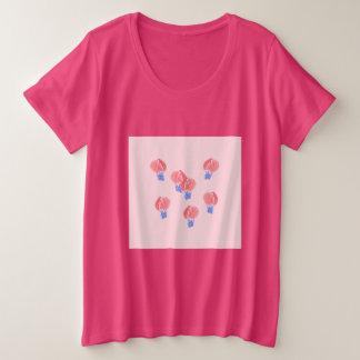 Air Balloons Women's Plus Size T-Shirt
