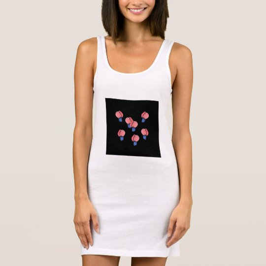 Air Balloons Women's Tank Dress