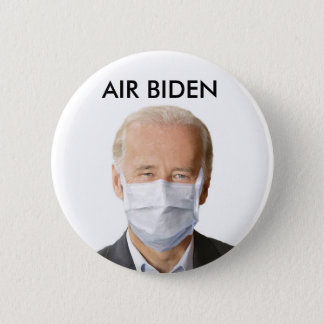 AIR BIDEN 2 INCH ROUND BUTTON