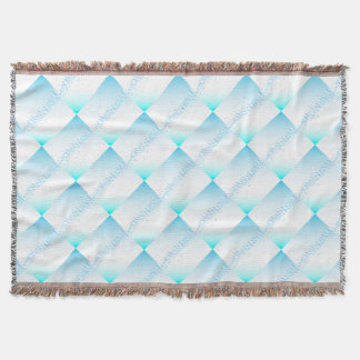 Air Bubbles On Water Throw Blanket