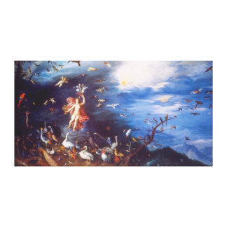 Air, by Jan Brueghel the Elder Canvas Print