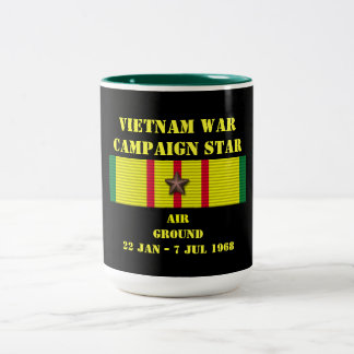 Air/campagne au sol mug bicolore