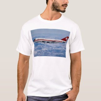 Air Canada 747 over Rocky Mountains T-Shirt