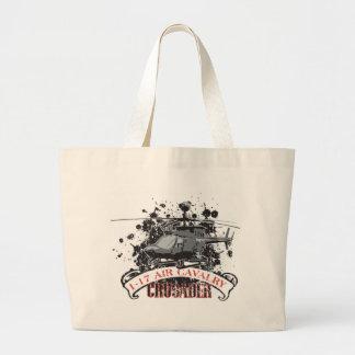 Air Cavalry Large Tote Bag