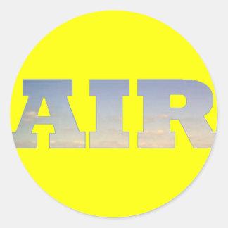 Air Classic Round Sticker