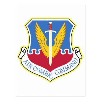 Air Combat Command Postcard