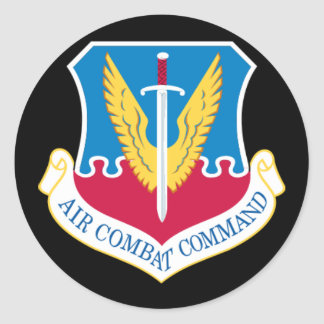 Air Combat Command Sticker